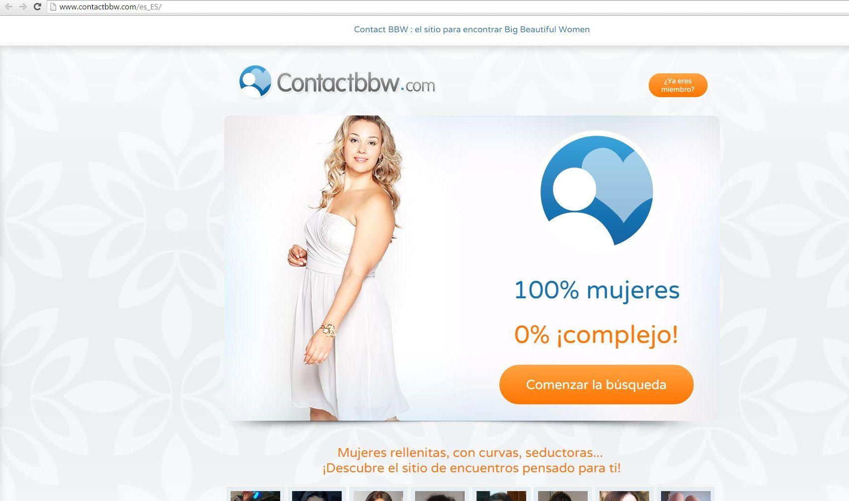 contactos con mujeres gordas