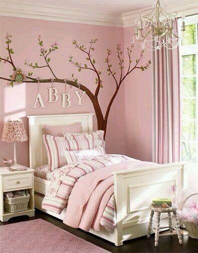 Pintura cuarto niñas | Decoración | Pinterest | Girls bedroom ...