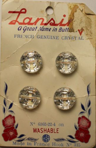 old vintage button card- we have these buttons! Hooray Stampin' Up!