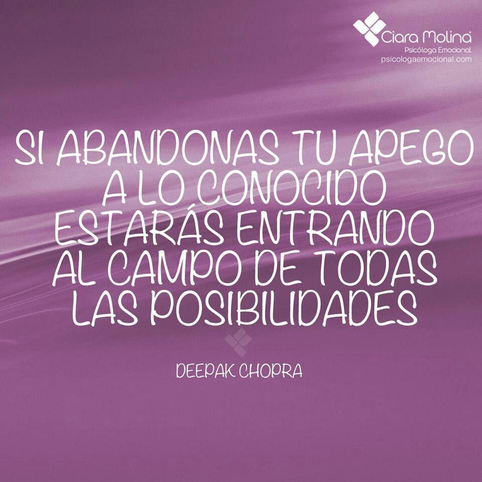 Deepak Chopra Motivacion Frases Frases Alentadoras Y