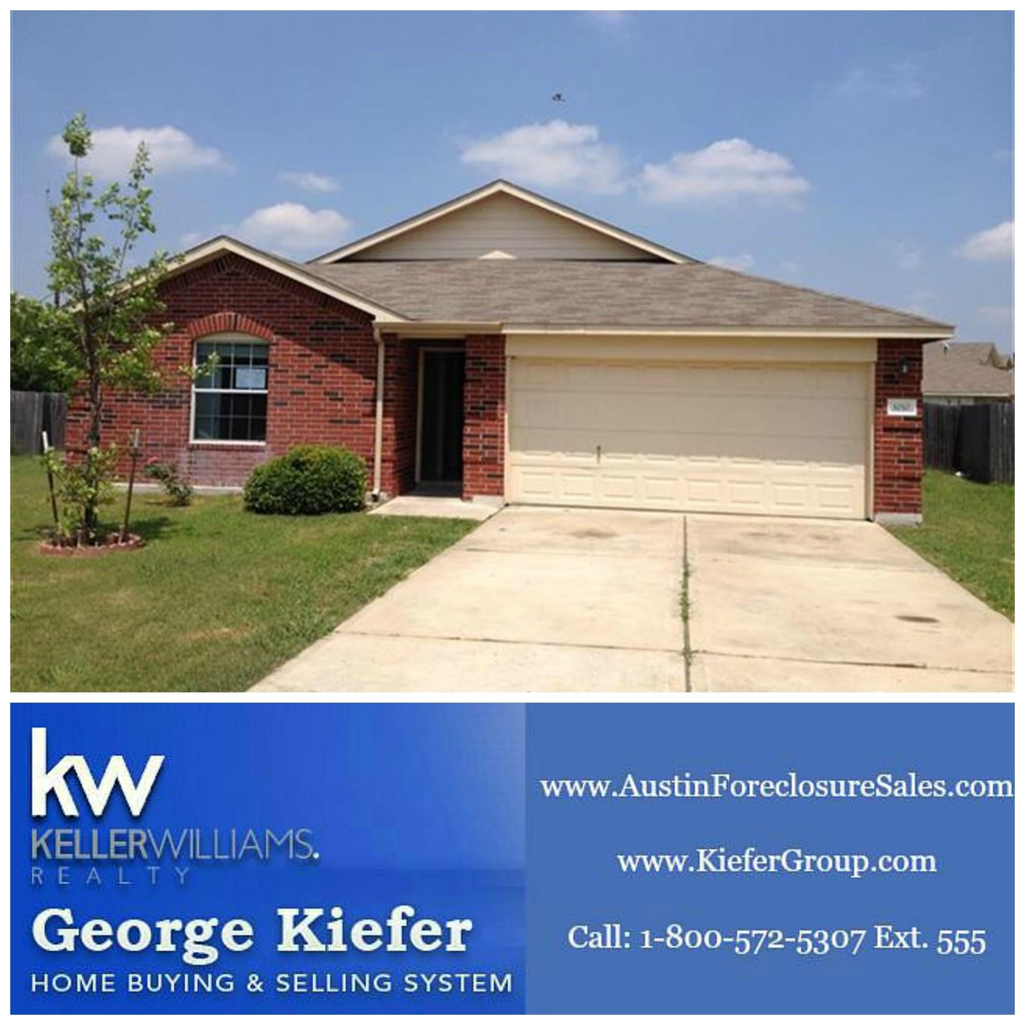 Apartments For Sale Texas: 0.31-Acre 1-Story HUD Home In Georgetown Texas $166,000