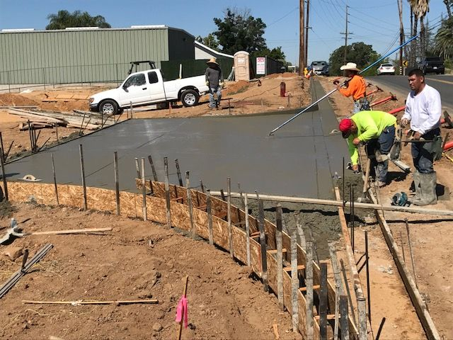 Dkc Architects New Office Building Nice To Have Concrete Curb Gutter And Driveway Apron Complete Today Asphalt Early Ne Street Work Architect Driveway Apron