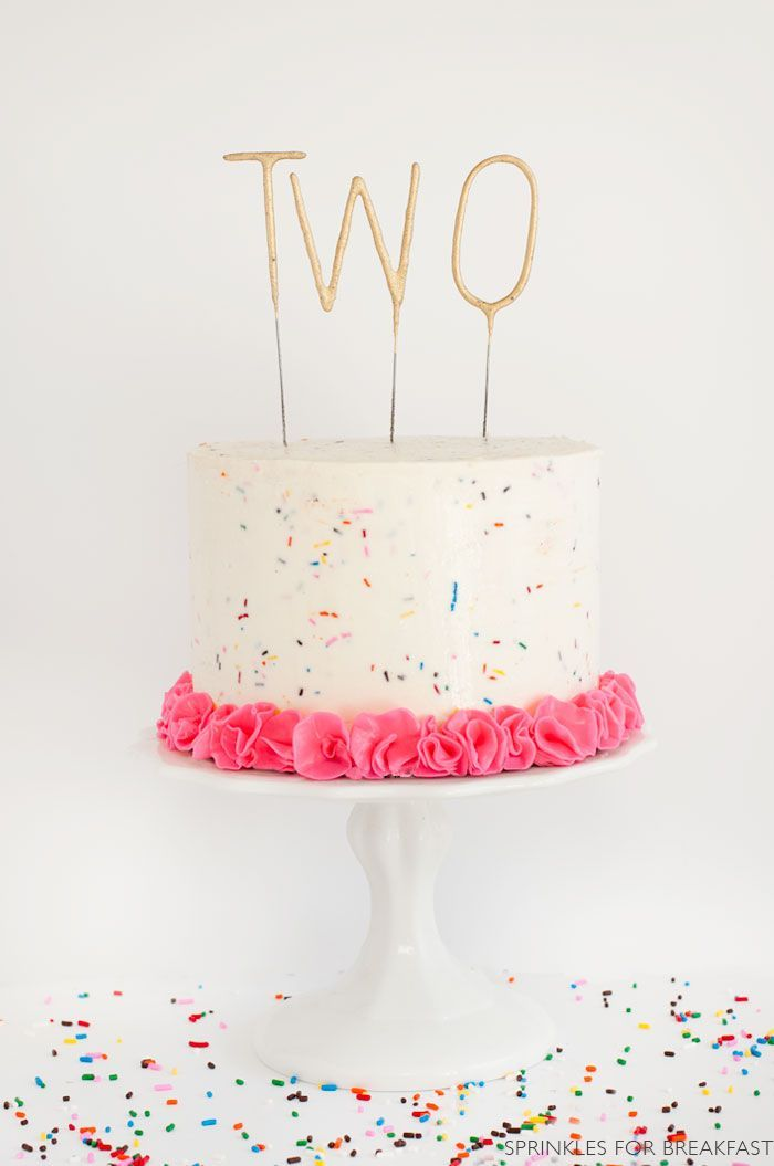 Happy Birthday Recipe Sprinkles Birthday Cake Kids Cake Cute