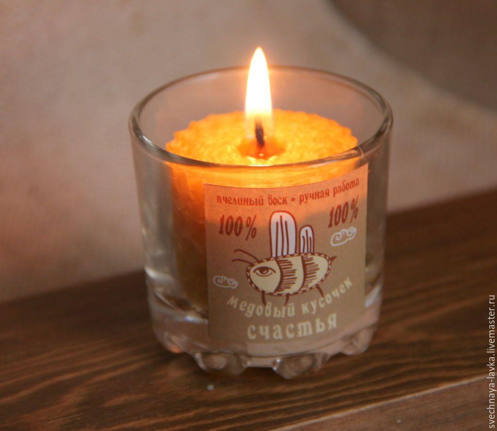 Винтажные свечи своими руками: секреты изготовления