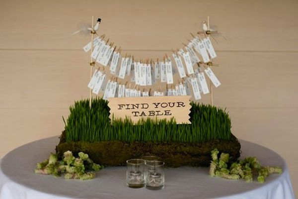 Seating Charts For Your Small Wedding  Seating Charts Intimate