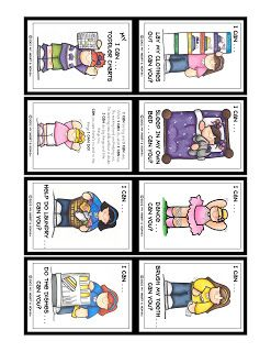 Prepared NOT Scared!: Preparedness Project - Toddler Charts!