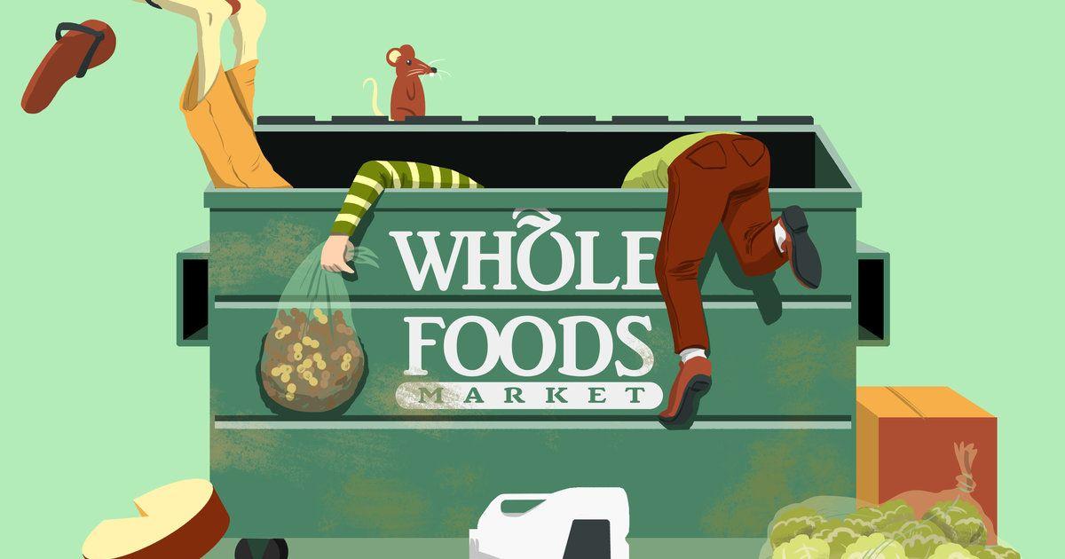 Whole Foods Market Has A Good Stuff Dumpster Dive 360 Dumpster Diving Dumpster Diver Whole Food Recipes