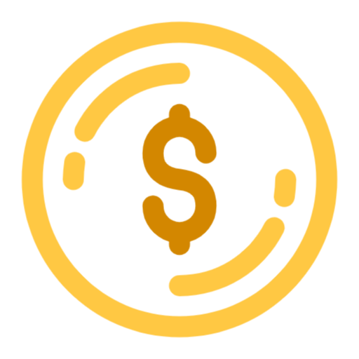 Free Coin Png Svg Icon Coin Icon Social Media Icons Free Icon