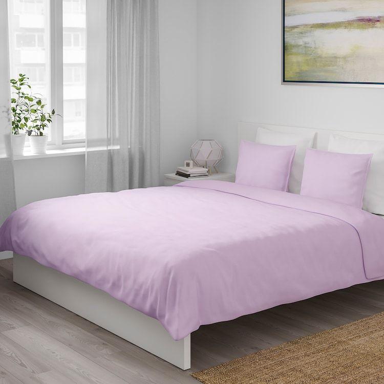 Angslilja Duvet Cover And Pillowcase S Light Lilac Twin Ikea Duvet Cover Sets Duvet Covers Purple Bed Sheets