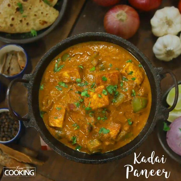 kadai paneer restaurant style kadaipaneer paneerrecipe paneer paneerrecipes recipes on hebbar s kitchen kadai paneer id=48786