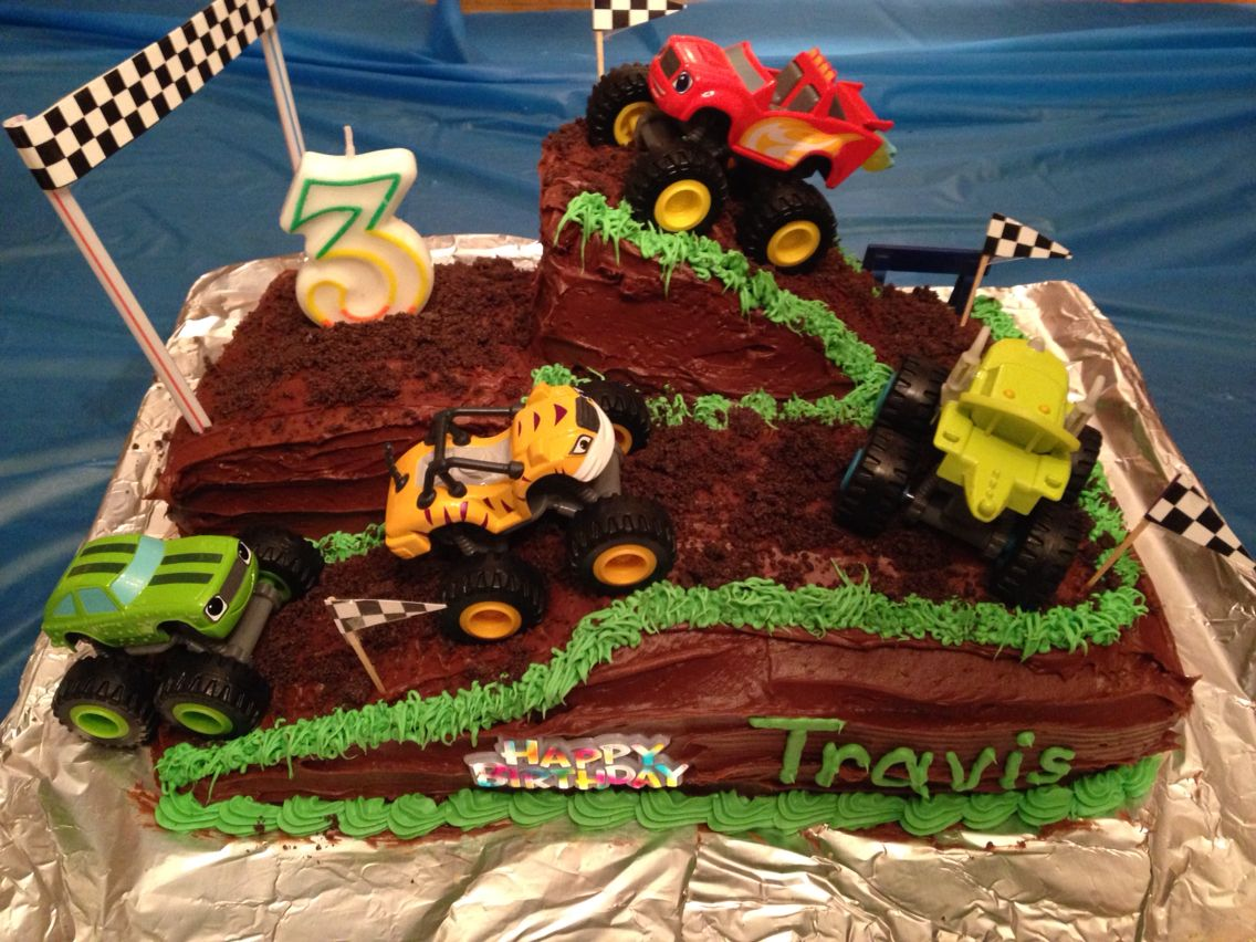 Blaze And The Monster Machines Cake Blaze The Monster Machines