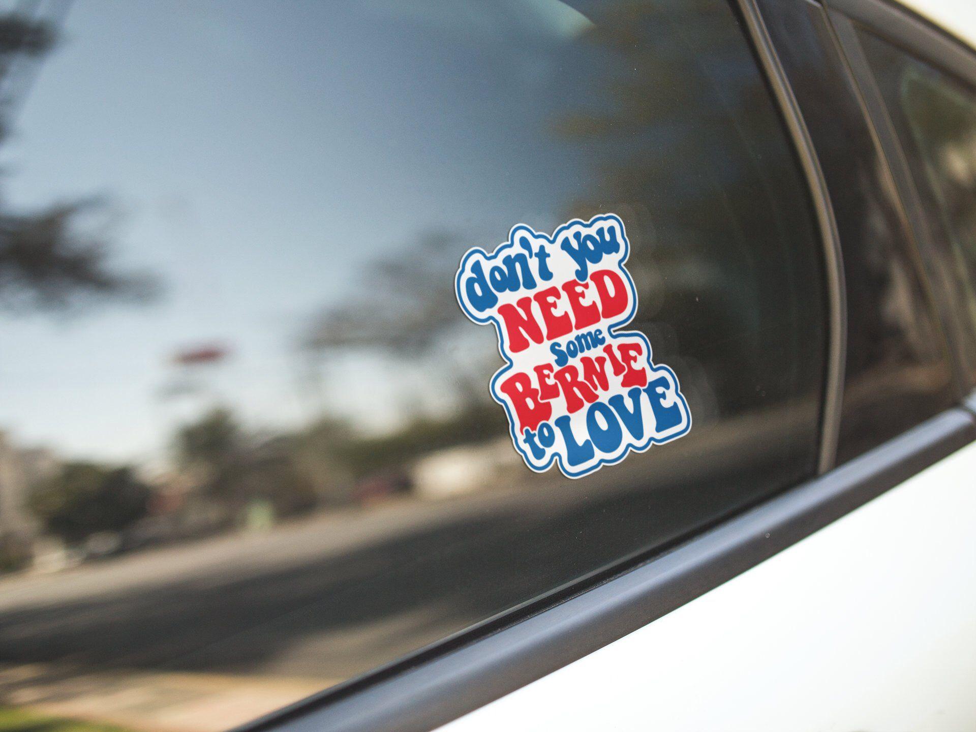Bernie Sanders 2020 For President Vinyl Sticker Car Truck Window Decal Bumper