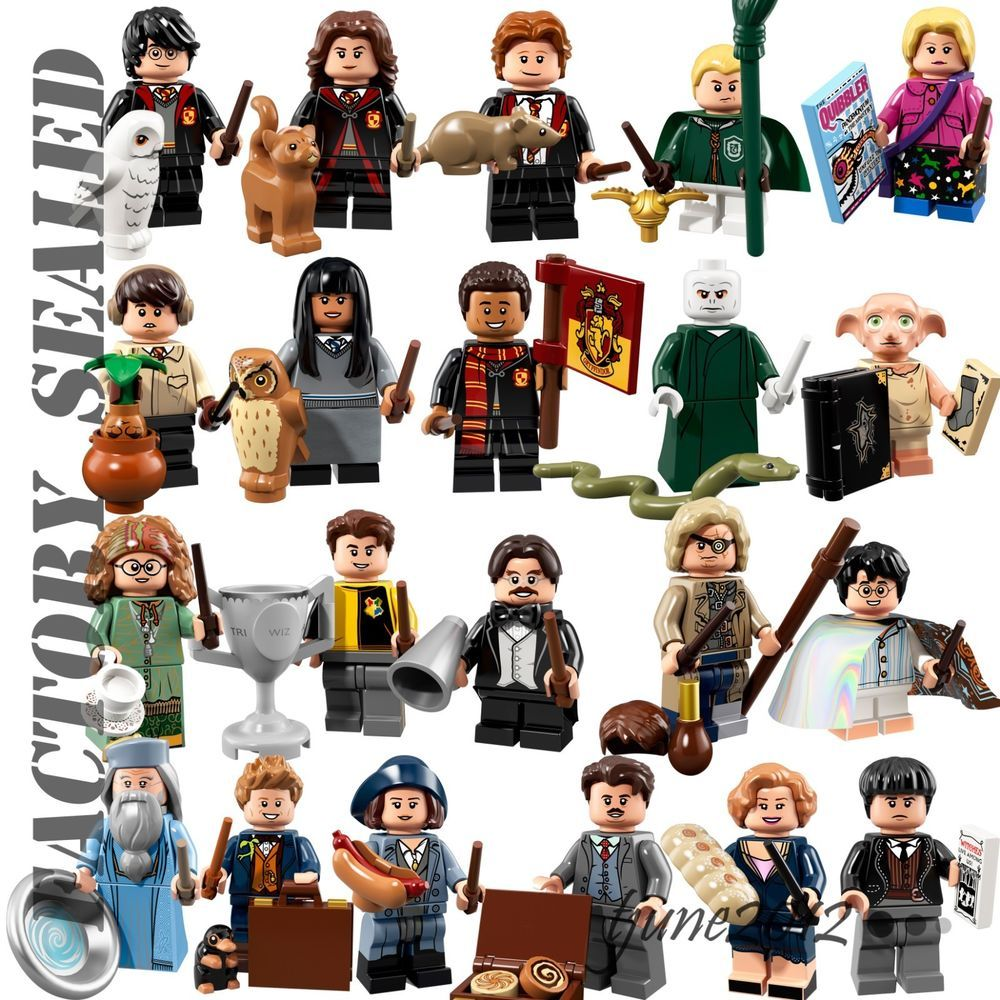 Harry Potter Minifigures SEALED Harry Potter Lego 71022 Invisibility Cloak
