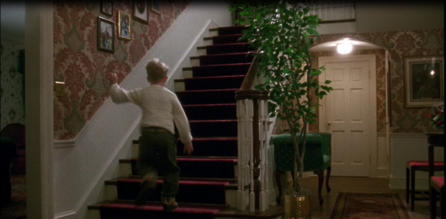 Another Glimpse Of The Home Alone Interior For The Home
