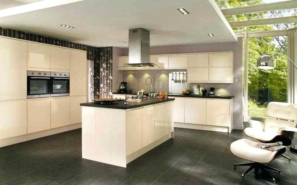 Couleur mur cuisine meuble bois - Atwebster.fr - Maison et ... cuisine couleur avec gris mur ...