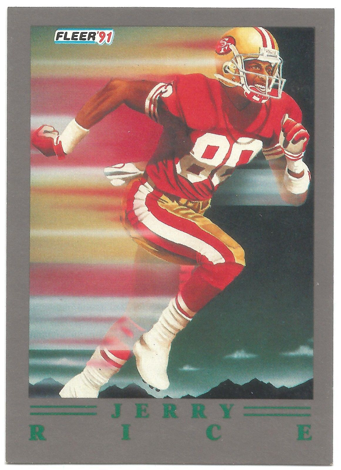 1991 ultra update jerry rice pro visions 99 hof 49ers