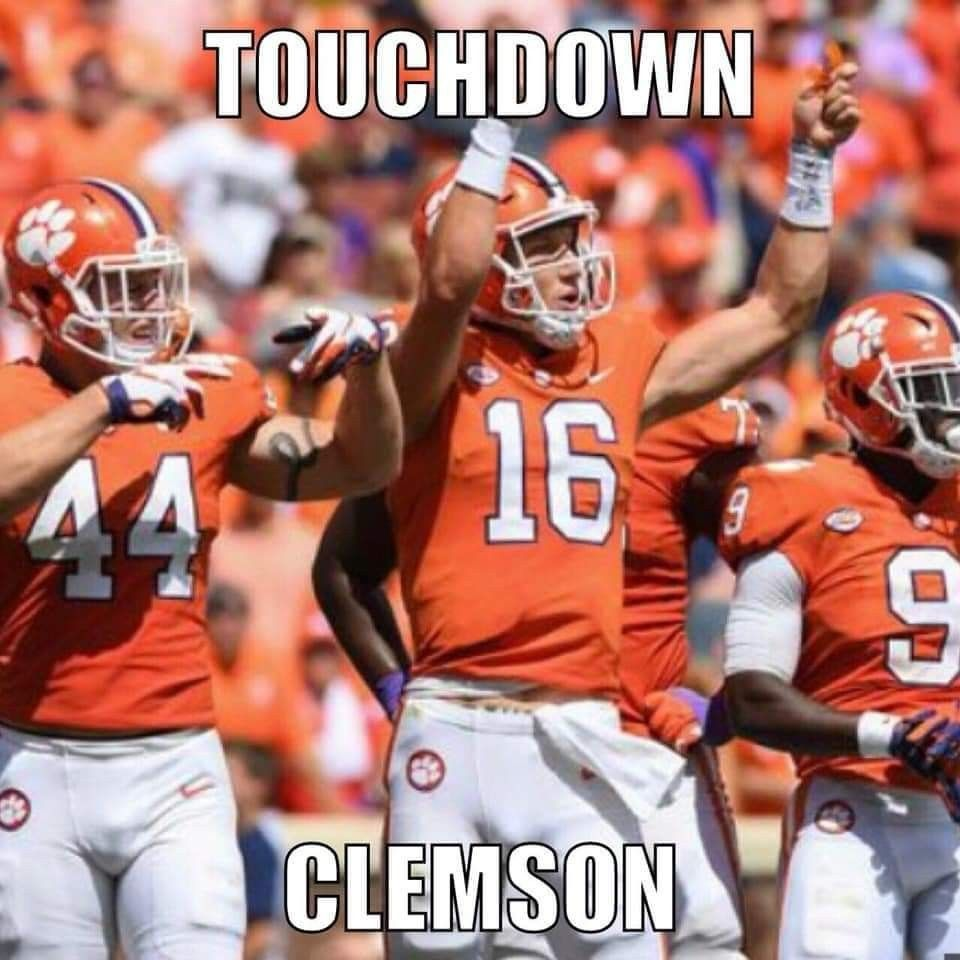 All In Trevor Lawrence Clemson Tigers Football Clemson Football Clemson