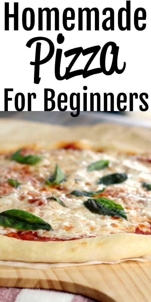 Quick Homemade Pizza Dough   - comida: -