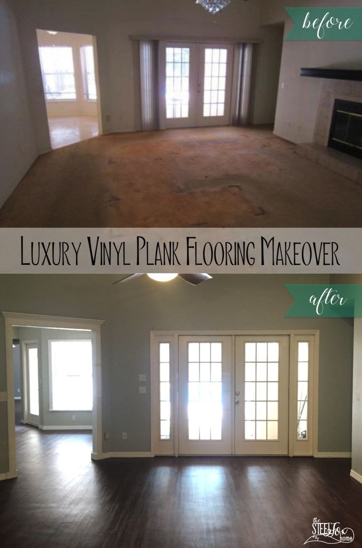 Luxury Vinyl Plank Wood Flooring Whole House Makeover Why We