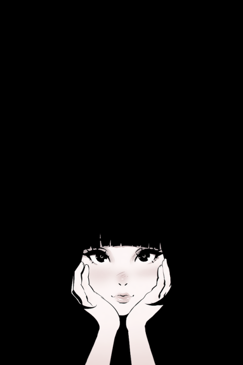Anta E Artist Ilya Kuvshinov Anime Wallpaper Iphone Kawaii Wallpaper Black Aesthetic Wallpaper