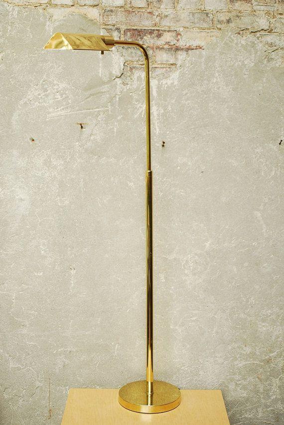 Vintage Brass Floor Lamp Brass Floor Lamp Lamp Floor Lamp