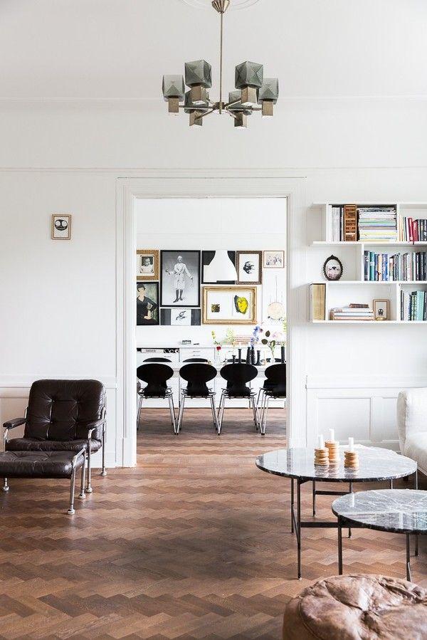 Classic Scandinavian Malmo Apartment Emmas Designblogg Interior Home Scandinavian Home