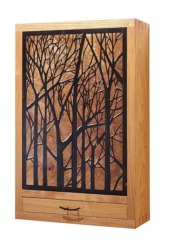 Marquetry Patter Jewelry Cabinet   Readers Gallery   Fine Woodworking