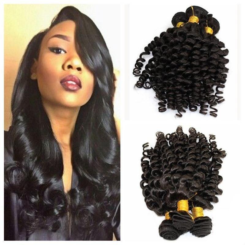 Aunty Funmi Hair Virgin Brazilian Hair Funmi Curly Weave Natural