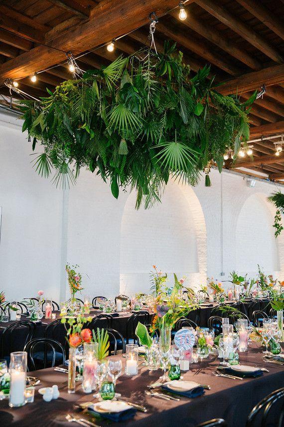 Tropical Wedding Ideas Safarijungle Theme Wedding Inspiration