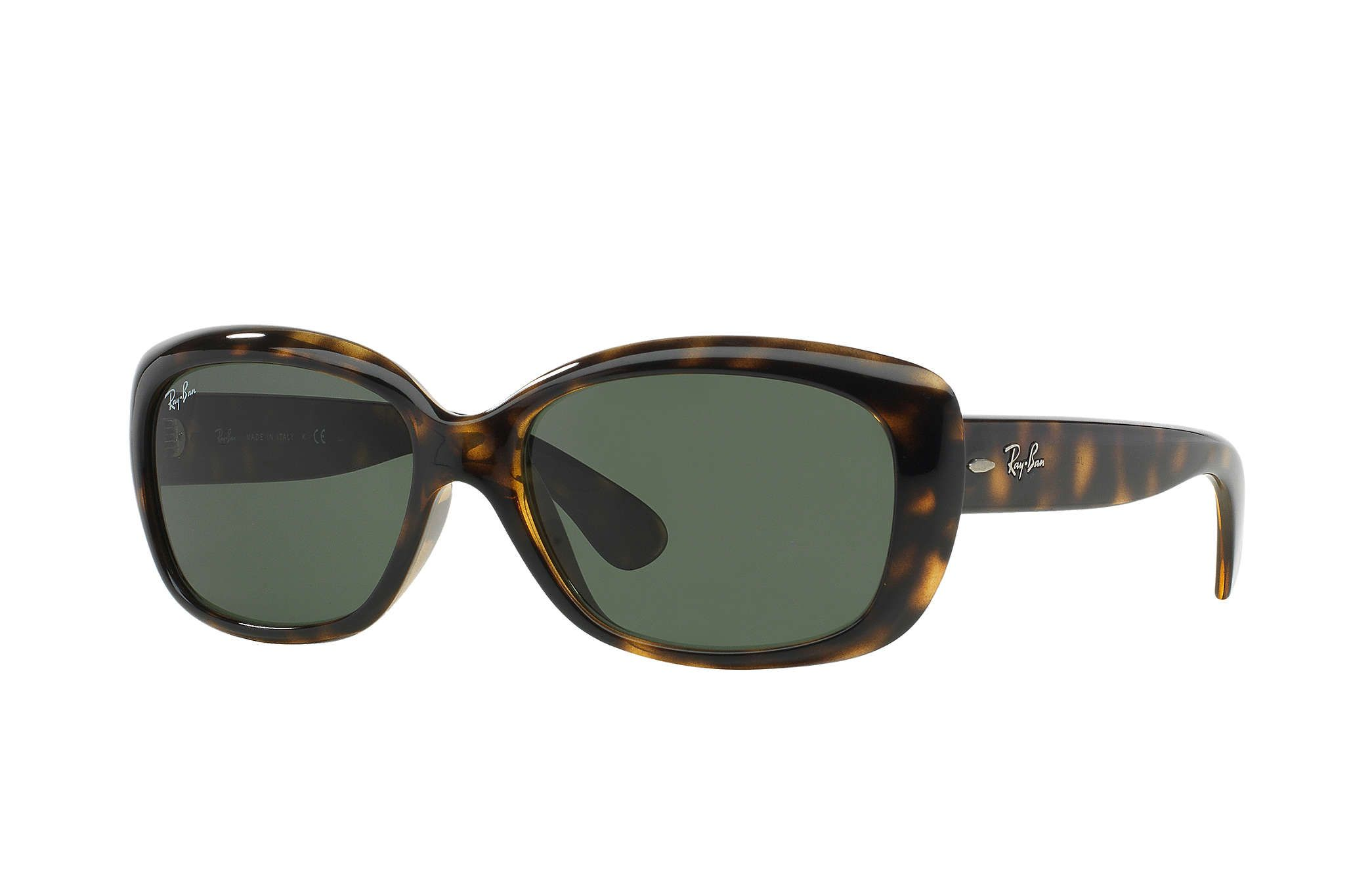Ray Ban 0rb4101 Jackie Ohh Tortoise Sun Rectangle Sunglasses Ray Ban Women Ray Bans