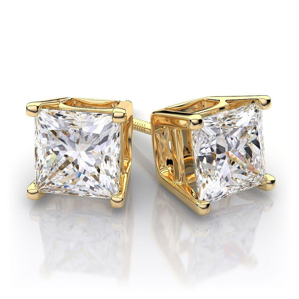 Gold Diamond Earrings For Men | Adorable Mens Diamond ...