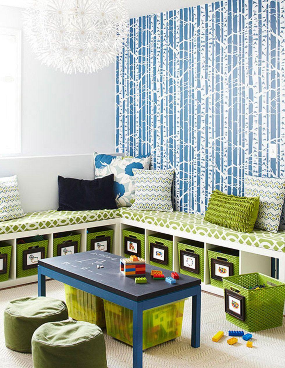Giochi Pulire Le Stanze cameretta dei bambini • 70 idee per una stanza moderna e
