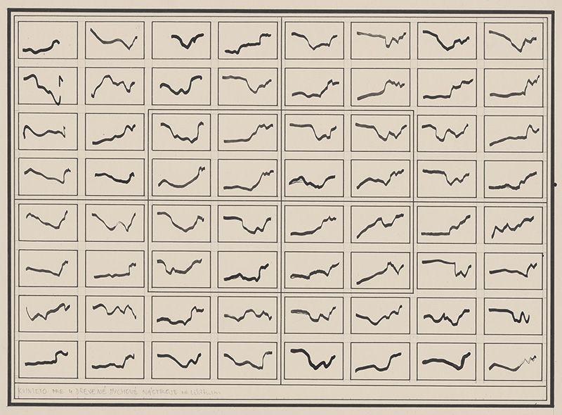 Milan Adamčiak: Kvinteto pre 4 drevené dychové nástroje, 1977. Foto - Web umenia