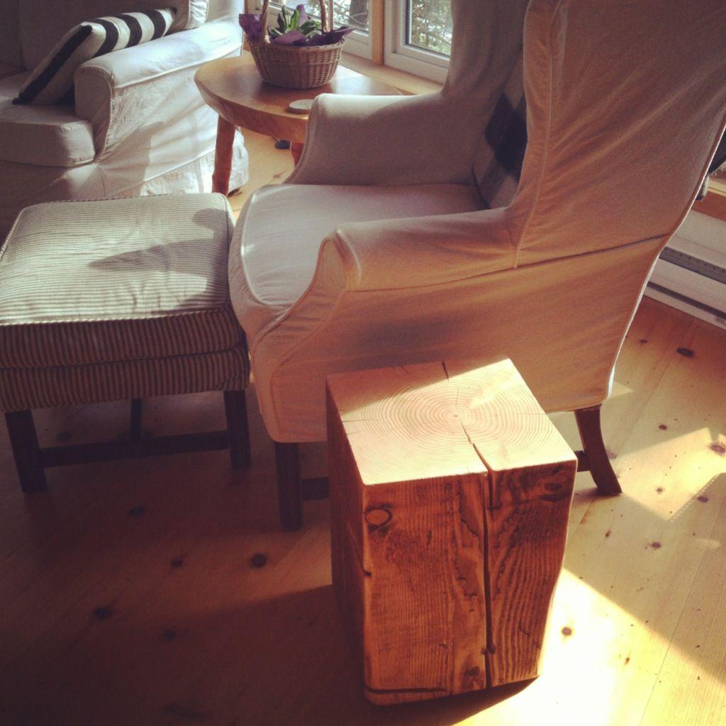 Douglas Fir Chunk Table By Woodman Co Follow Twitter  # Muebles Woodman