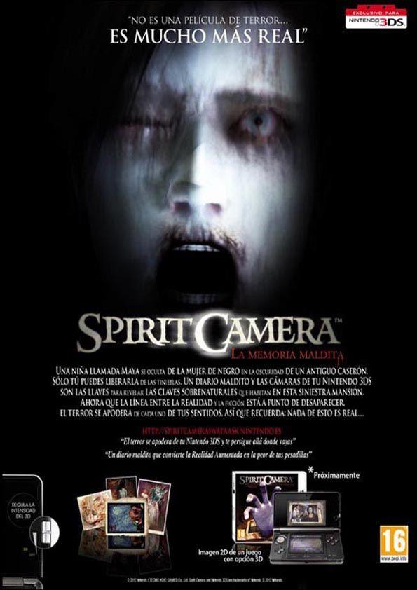Spirit Camera Nintendo 3DS | Fatal Frame | Pinterest | Nintendo 3DS ...