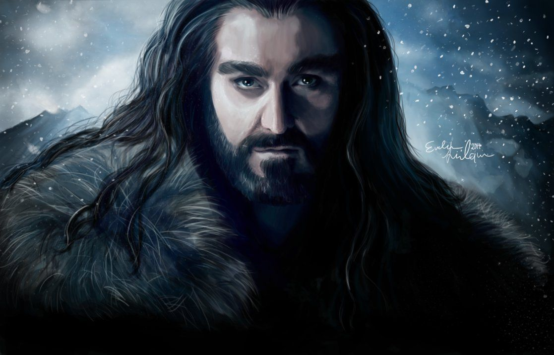 Thorin Oakenshield by Evelina Lindqvist [©2014]