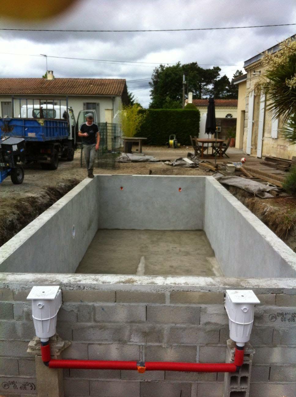 Construction D Une Piscine projet & étapes de #construction d'une #piscine en #gironde