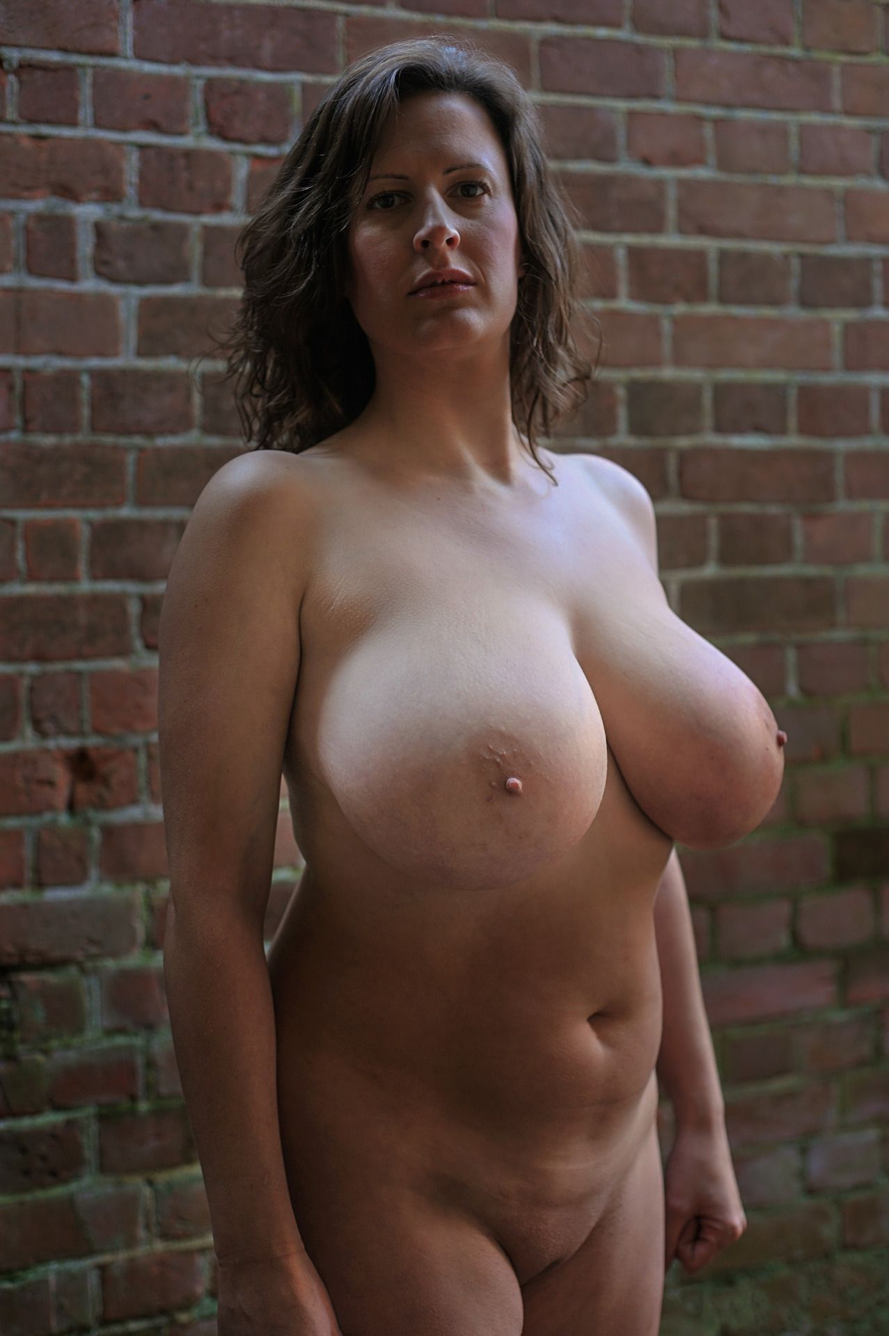 Nude natural mature terrific