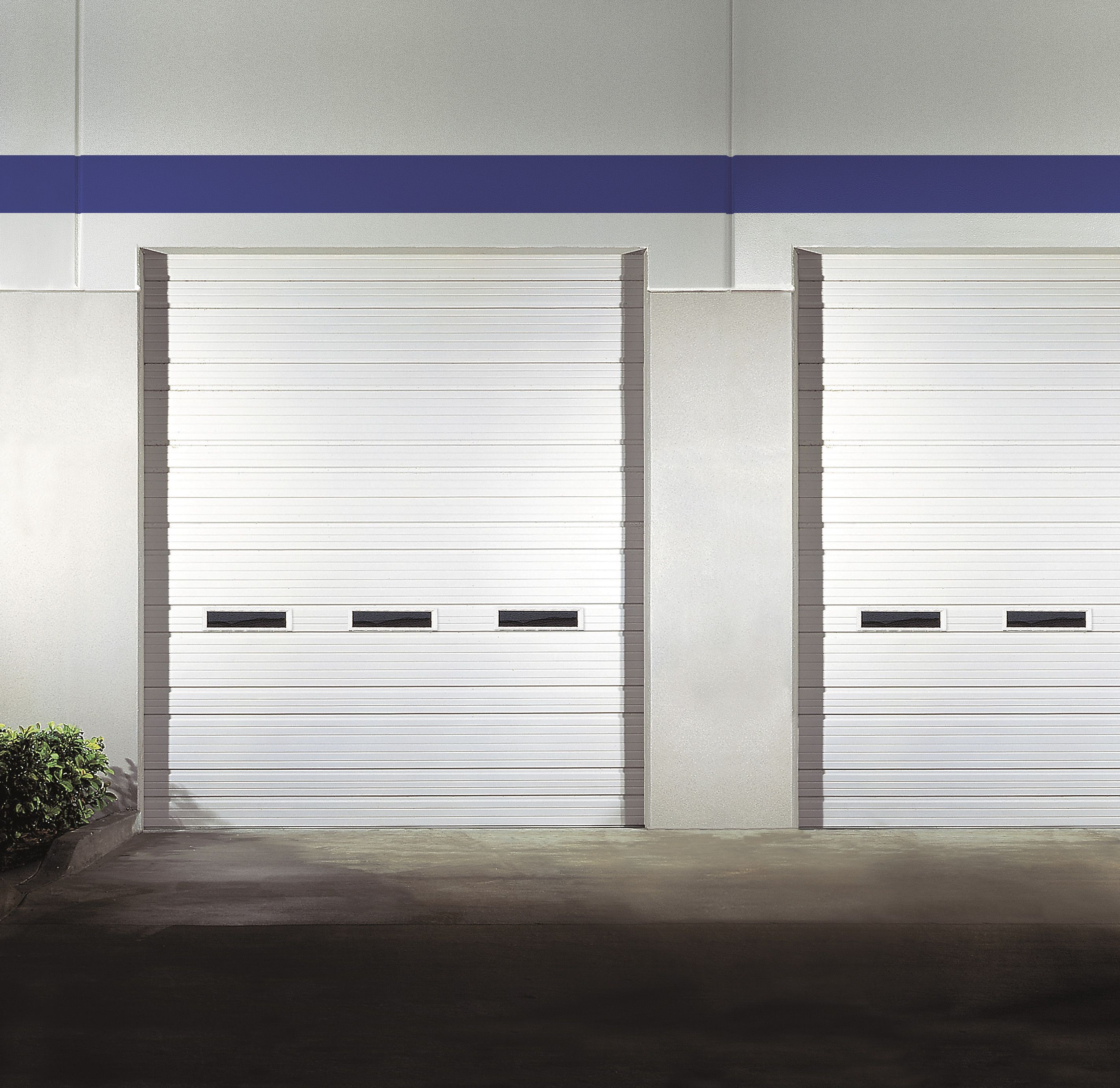 industrial garage door. Commercial Garage Door With Porthole Window Industrial I