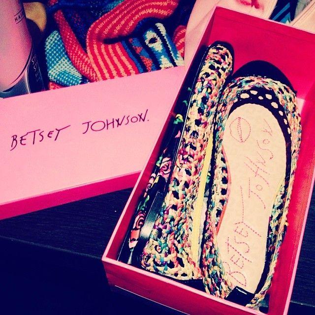 @Natasha Schaitel My very own pair of @Betsey Johnson shoes >.< #crazycolourcomfy #betseyjohnson #shoes #colourful