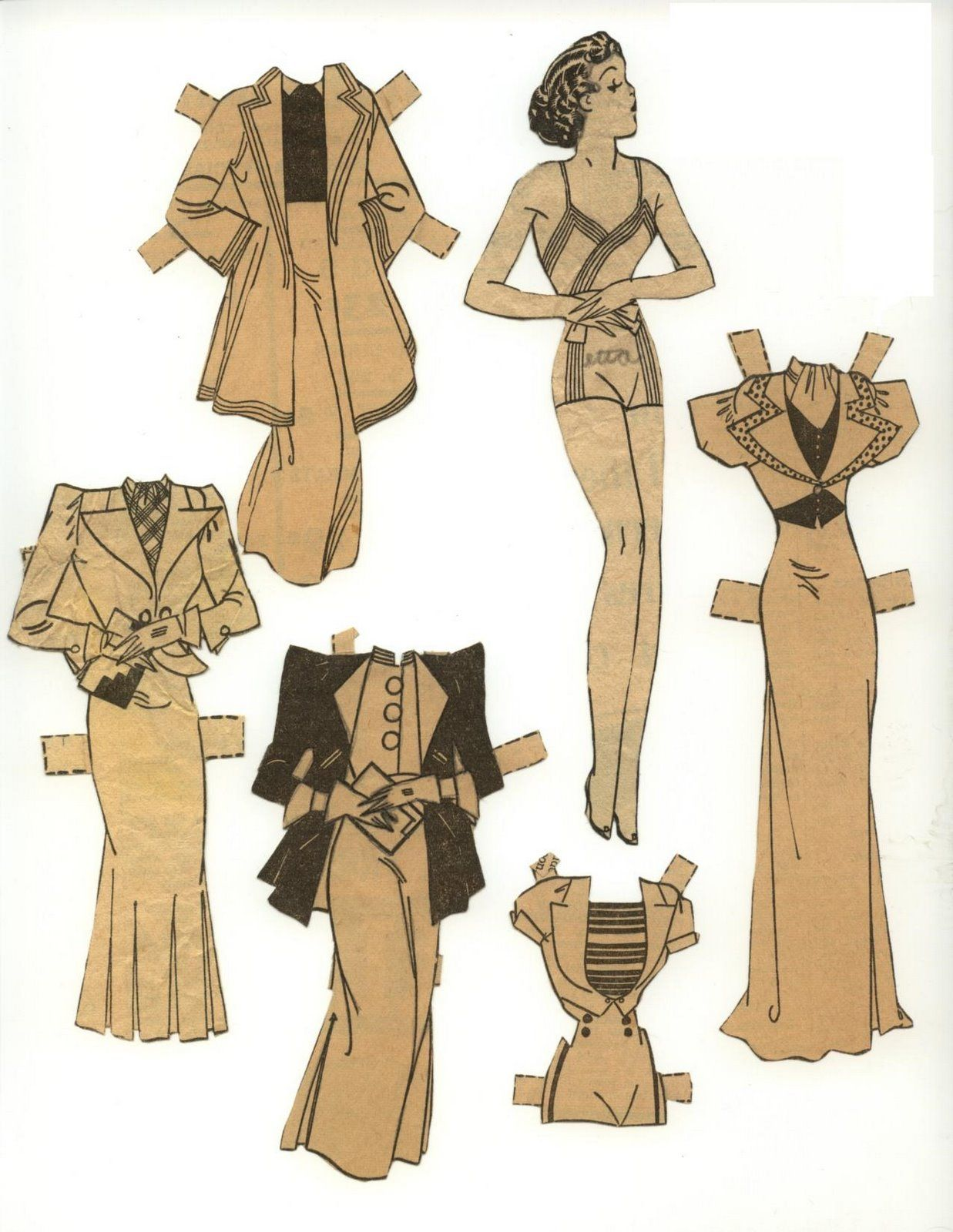 By 1937, the Etta Kett paper doll craze seemed to be winding down. They