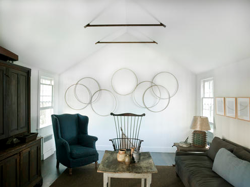 white, grey, blue, simplicity and clean with a touch of rustic.