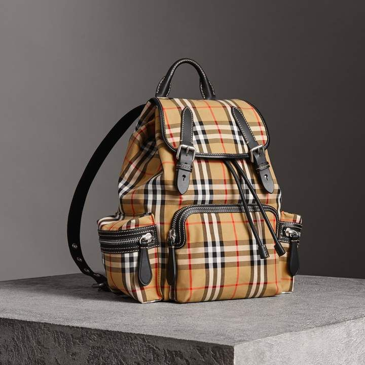 f56bbc79c Burberry The Medium Rucksack in Vintage Check and Leather | Bags ...
