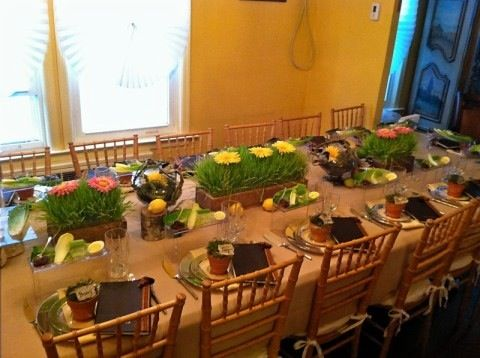 10 More Fantastic Passover 2012 Seder Table Decor Ideas To Inspire You All Year Round   & 10 More Fantastic Passover 2012 Seder Table Decor Ideas To Inspire ...