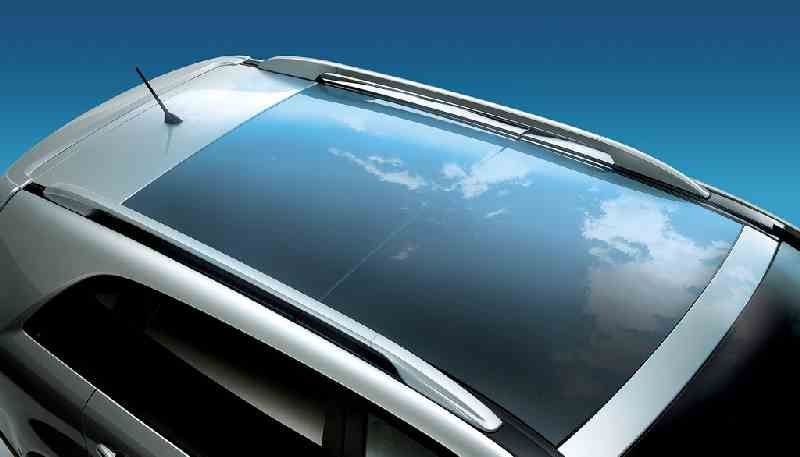 Car with a giant sunroof (and leather seats... the only two things I really require out of a car)