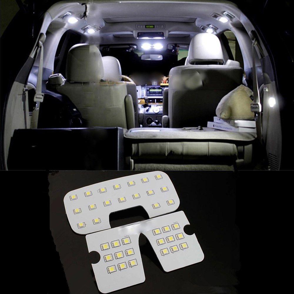 For Hyundai Ix35 Led Interior Accessories Reading Lamp Led Reading Light Visor Dome Cargo Room Auto Accessories 3pcs Led Reading Light Car Lights Reading Light