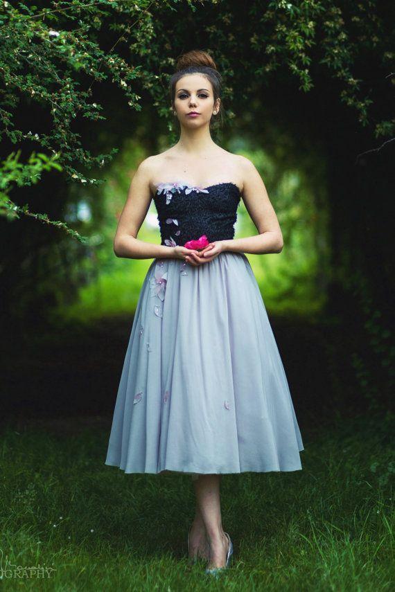 Wedding Dress/Fairy Tale/Alternative bride/Elegant by LuceDiLesKo ...