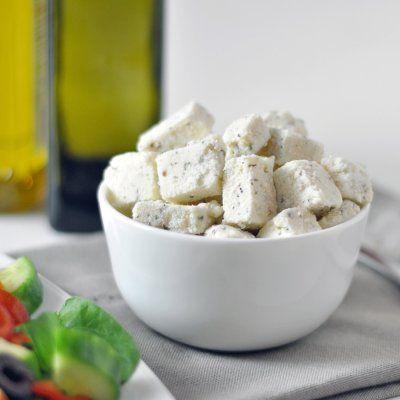 Vegan feta cheese! by Including cake