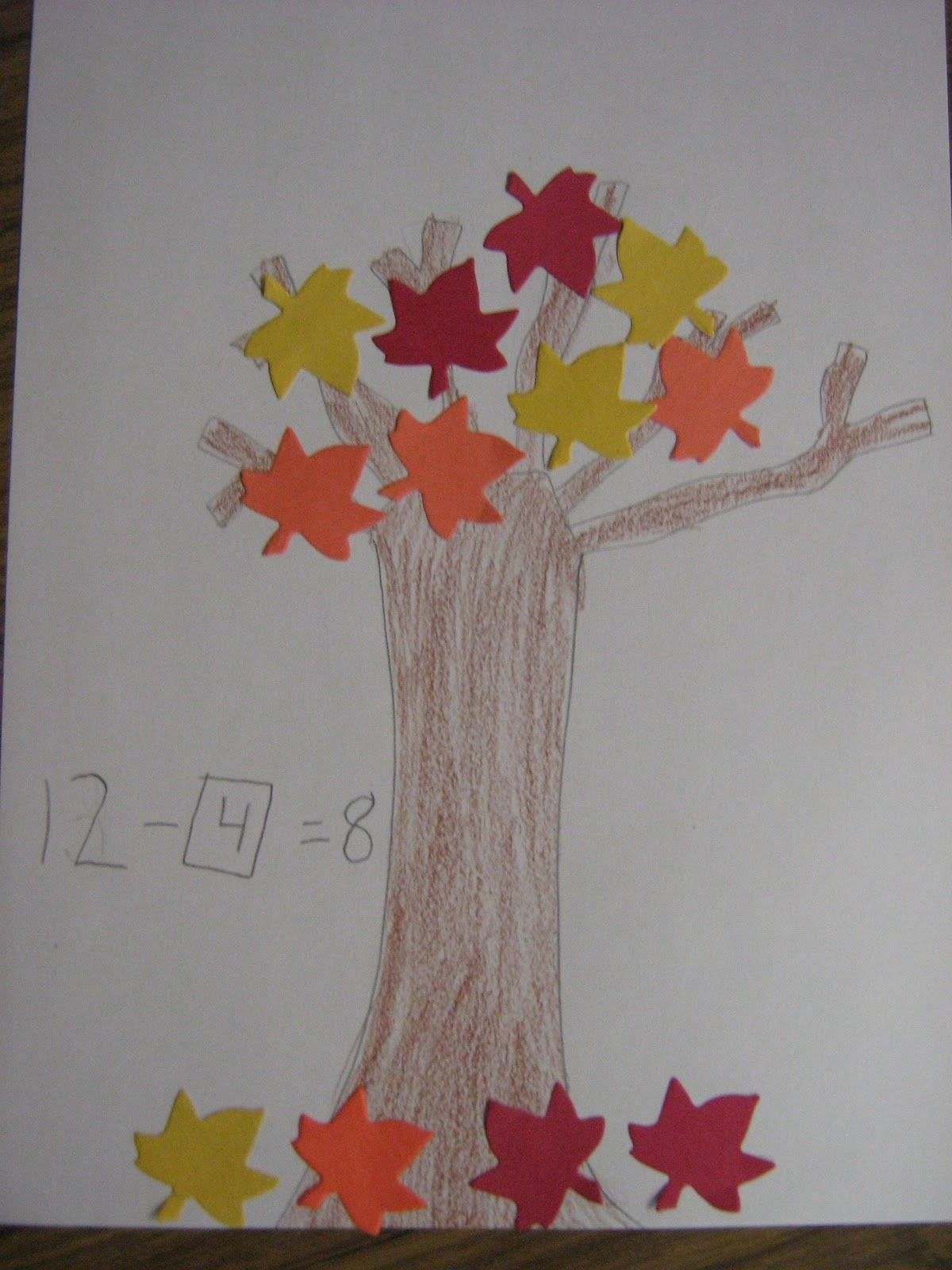 Fall Leaves And Unknown Numbers With Images