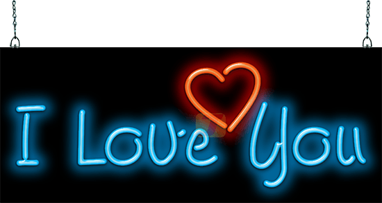 Love With Heart Led Neon Sign Neon Signs Neon Art Neon